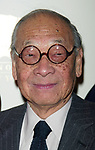 I.M. PEI attending the Gala Opening Night launch of the Mandarin Oriental Hotel in New York City.<br />December 1, 2003