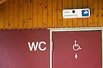 toilet - under video surveillance | WC - Video ueberwacht