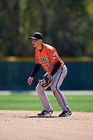 Baltimore Orioles Anthony Caronia (56) during a minor league Spring Training game against the Boston Red Sox on March 16, 2017 at the Buck O'Neil Baseball Complex in Sarasota, Florida.  (Mike Janes/Four Seam Images)