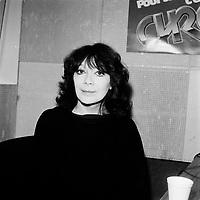 Juliette Greco<br /> <br /> ,date inconnnue<br /> <br /> PHOTO : Agence Quebec Presse - Roland Lachance