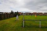 Burntisland Shipyard 0 Colville Park 7, 12/08/2017. The Recreation Ground, Scottish Cup First Preliminary Round. Burntisland prepare to take a corner. Photo by Paul Thompson.
