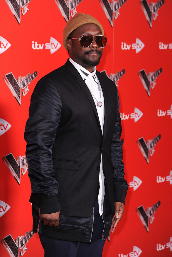 Will i Am<br /> at the photocall for The Voice UK 2018 launch at Ham Yard Hotel, London<br /> <br /> <br /> ©Ash Knotek  D3366  03/01/2018