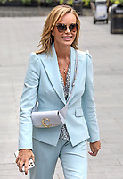 Amanda Holden seen leaving the Global Radio Studios in Leicester Square, London on Friday June 5th 2020<br /> <br /> Photo BDC/People Press