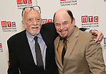 Hal Prince and Jason Alexander attends the 2017 Manhattan Theatre Club Fall Benefit honoring Hal Prince on October 23, 2017 at 583 Park Avenue in New York City.