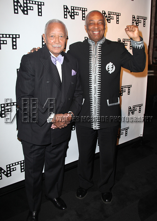 .attending the Woodie King Jr's NFT New Federal Theatre 40th Reunion Gala Benefit in New York City.
