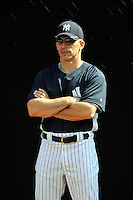 Feb 23, 2010; Tampa, FL, USA; New York Yankees manager Joe Girardi (28) during  team workout at George M. Steinbrenner Field. Mandatory Credit: Tomasso De Rosa