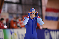 SPEEDSKATING: ERFURT: 19-01-2018, ISU World Cup, 500m Ladies B Division, Anne Gulbrandsen (NOR), photo: Martin de Jong