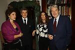 ROSY GRECO , ALAIN E GINEVRA ELKANN CON MASSIMO TEODORI