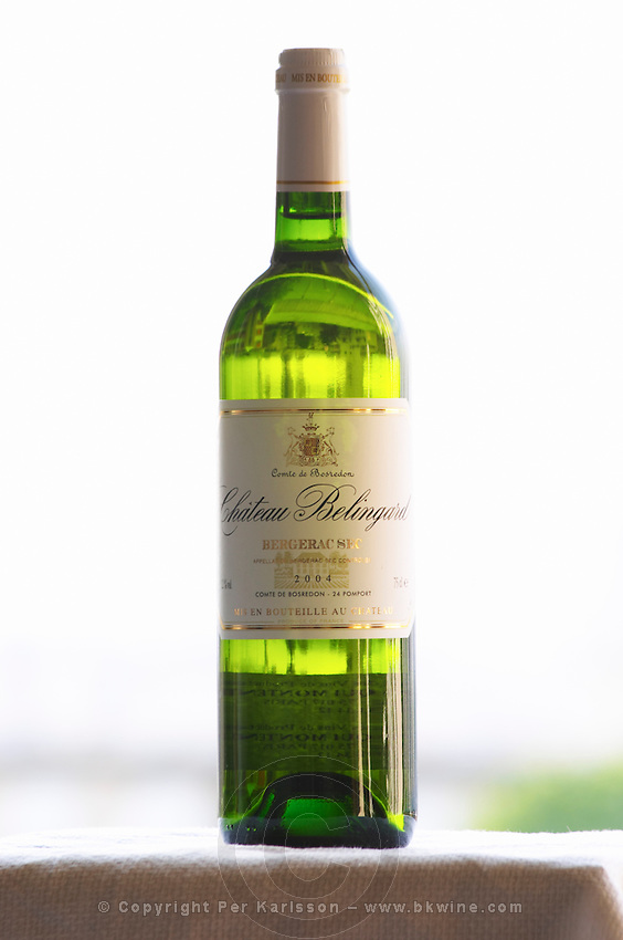Chateau Belingard, Bergerac sec, dry white wine Chateau Belingard Bergerac Dordogne France
