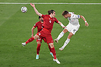 Yusuf Yazıcı Turkey and Ciro Immobile of Italy  during the Uefa Euro 2020 Group stage - Group A football match between Turkey and Italy at stadio Olimpico in Rome (Italy), June 11th, 2021. Photo Andrea Staccioli / Insidefoto