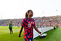 EAST HARTFORD, CT - JULY 5: Catarina Macario #19  of the United States after a game between Mexico and USWNT at Rentschler Field on July 5, 2021 in East Hartford, Connecticut.