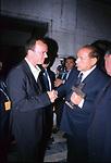 """SILVIO BERLUSCONI CO GIGI D'ALESSIO<br /> PREMIO """"ITALIANI NEL MONDO"""" COMPLESSO DEL VITTORIANO ROMA 2002"""