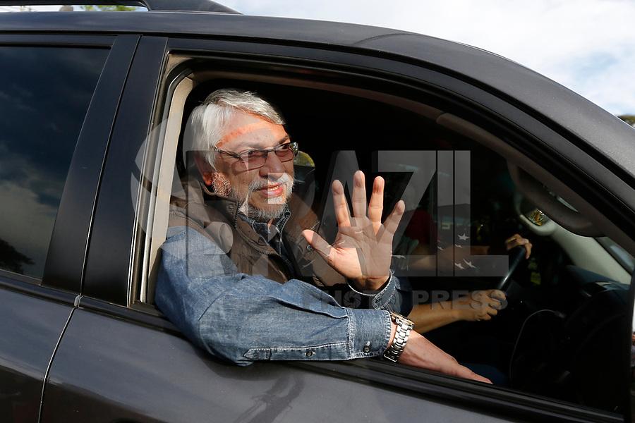FOZ DO IGUAÇU, PR, 26.03.2018 – LULA – PR –  Fernando Lugo, Ex-Presidente do Paraguai, durante caravana do ex-Presidente Lula pela cidade de Foz do Iguaçu na tarde desta segunda-feira (26). (Foto: Paulo Lisboa/Brazil Photo Press)