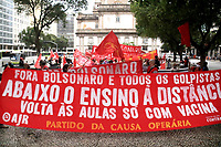 23/09/2020 - PROTESTO CONTRA BOLSONARO NO RIO DE JANEIRO
