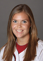 STANFORD, CA - OCTOBER 29:  Christina Goswiller of the Stanford Cardinal softball team poses for a headshot on October 29, 2009 in Stanford, California.