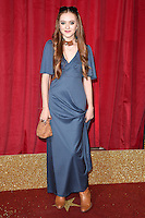Persephone Swales-Dawson<br /> arrives for the British Soap Awards 2016 at Hackney Empire, London.<br /> <br /> <br /> ©Ash Knotek  D3124  28/05/2016