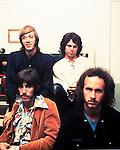 The Doors 1968 Ray Manzarek, Jim Morrison, Robbie Krieger and John Densmore at Top Of The Pops..© Chris Walter.