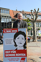 01.05.2016: Mai-Kundgebung des DGB Ortsvereins Groß-Gerau