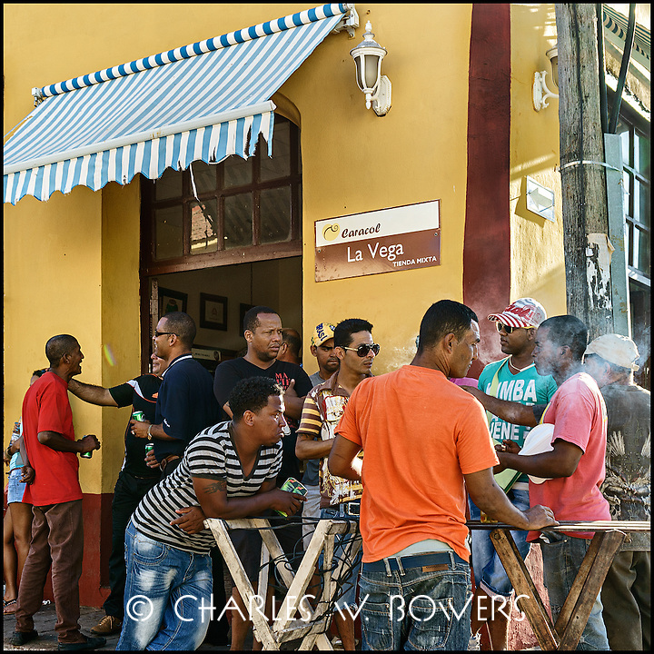Faces Of Cuba - men will be men. Meet at the pub for a celebration.<br />