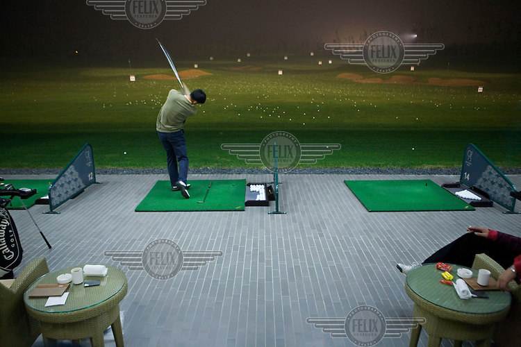 Bayhood 9, a private golf club with a host of 'lifestyle' services, which recently opened and has been rated as one of the best clubs in China.