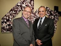 Montreal (Qc) CANADA Sept  30 2010 - Centaur Theater fundraiser Gala : Roy Surette (L), Calin Rovinescu. CEO, Air Canada.