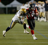 William Fields Winnipeg Blue Bombers 2005. Photo F. Scott Grant