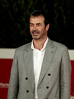 """Italian actor and producer Andrea Occhipinti poses on the red carpet for the screening of the film """"El olvido que seremos"""" during the 15th Rome Film Festival (Festa del Cinema di Roma) at the Auditorium Parco della Musica in Rome on October 22, 2020.<br /> UPDATE IMAGES PRESS/Isabella Bonotto"""