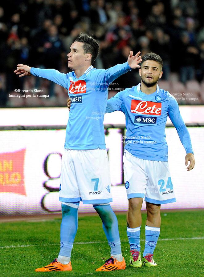 - NAPOLI 9 MAR  -  Stadio San Paolo    Napoli - Roma gol din callejon