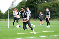 Nathan Dyer of Swansea City in action during the Swansea City Training Session at The Fairwood Training Ground, Wales, UK. Tuesday 11th September 2018