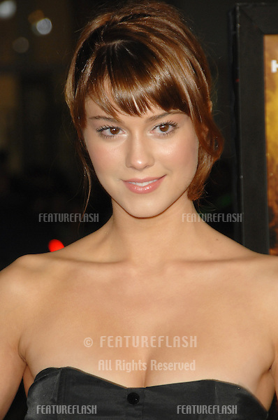 """MARY ELIZABETH WINSTEAD at the US premiere of """"The Fountain"""" at Grauman's Chinese Theatre, Hollywood..November 11, 2006  Los Angeles, CA.Picture: Paul Smith / Featureflash"""