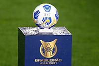 Santos (SP), 11.09.2021 - Santos-Bahia - Partida entre Santos e Bahia valida pela 20. rodada do Campeonato Brasileiro neste sábado (11) no estádio da Vila Belmiro em Santos.