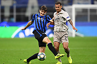 Marten de Roon of Atalanta and Alan Patrick of Shakhtar<br /> Milano 01-10-2019 Stadio Giuseppe Meazza <br /> Football Champions League 2019//2020 <br /> Group Stage Group C <br /> Atalanta - Shakhtar Donetsk  <br /> Photo Image Sport / Insidefoto
