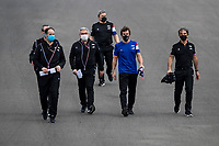 29th April 2021; Algarve International Circuit, in Portimao, Portugal; F1 Grand Prix of Portugal, driver and team arrival and inspection day;  ALONSO Fernando (spa), Alpine F1 A521