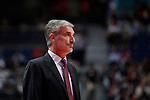 CAI Zaragoza´s coach Jose Luis Abos during 2013-14 Liga Endesa basketball match at Palacio de los Deportes stadium in Madrid, Spain. May 30, 2014. (ALTERPHOTOS/Victor Blanco)
