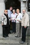 cheque presentation Augustinian Church