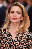 """Hayley Atwell<br /> arriving for the premiere of """"The Children Act"""" at the Curzon Mayfair, London<br /> <br /> ©Ash Knotek  D3420  16/08/2018"""