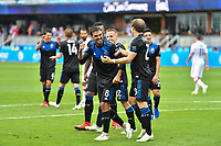 San Jose, CA - Saturday May 18, 2019: A Major League Soccer (MLS) match between the San Jose Earthquakes and the Chicago Fire at Avaya Stadium.