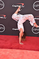 LOS ANGELES, USA. July 10, 2019: Katelyn Ohashi at the 2019 ESPY Awards at the Microsoft Theatre LA Live.<br /> Picture: Paul Smith/Featureflash