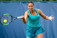 Rosmalen, Netherlands, 11 June, 2019, Tennis, Libema Open, Womans doubles: Lesley Kerkhove (NED) <br /> Photo: Henk Koster/tennisimages.com