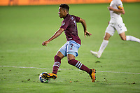CARSON, CA - SEPTEMBER 19: Jonathan Lewis #7 of the Colorado Rapids moves with the ball during a game between Colorado Rapids and Los Angeles Galaxy at Dignity Heath Sports Park on September 19, 2020 in Carson, California.