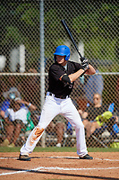 Sean Sparling (5) during the WWBA World Championship at Terry Park on October 8, 2020 in Fort Myers, Florida.  Sean Sparling, a resident of Palm Coast, Florida who attends Matanzas High School, is committed to Daytona State College.  (Mike Janes/Four Seam Images)