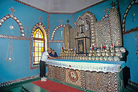 pearl shell chapel, Beagle Bay Mission, Kimberley, West Australia