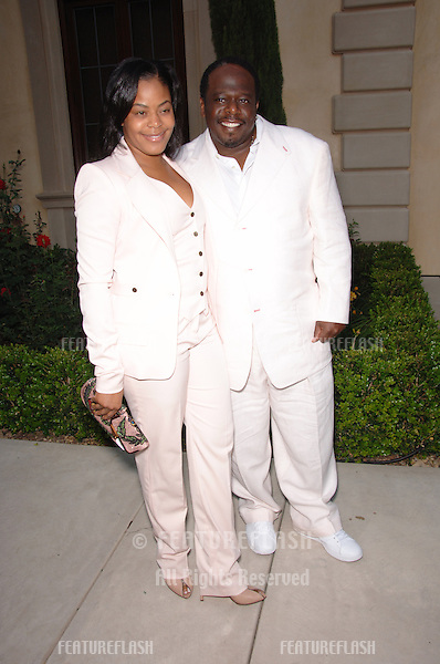 Actor CEDRIC THE ENTERTAINER & wife at Chrysalis' Fifth Annual Butterfly Ball at a private villa in Bel Air. Chrysalis is a non-profit organization dedicated to helping the homeless..June 10, 2006  Los Angeles, CA.© 2006 Paul Smith / Featureflash