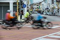 Fast Motorbikes, Speeding Traffic, George Town, Penang, Malaysia