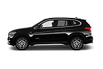 Car driver side profile view of a 2018 BMW X1 xDrive28i 5 Door SUV