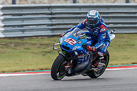 2nd October 2021; Austin, Texas, USA;  Alex Rins (42) - (SPA) riding a Suzuki for the Team SUZUKI ECSTAR at turn 19 during Free Practise 3 for the MotoGP Red Bull Grand Prix of the Americas held October 2, 2021 at the Circuit of the Americas in Austin, TX.