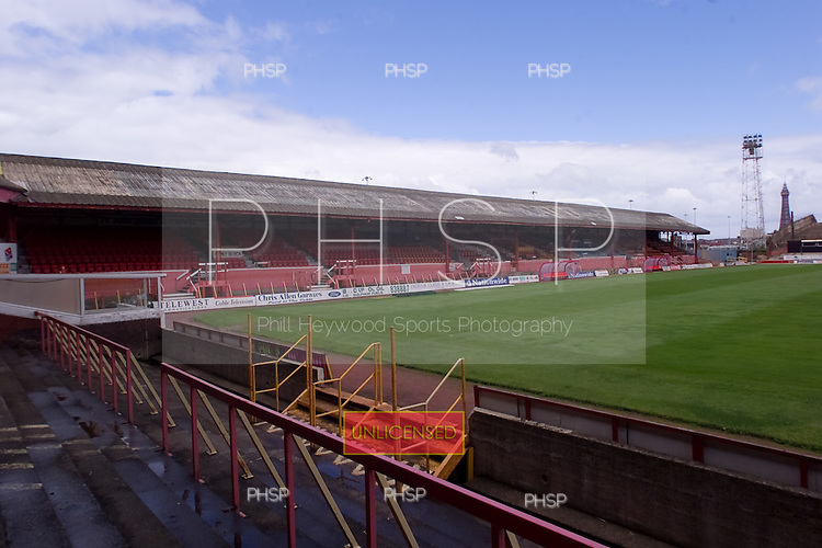 23/06/2000 Blackpool FC Bloomfield Road Ground..West stand.....© Phill Heywood.