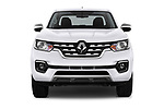 Car photography straight front view of a 2018 Renault Alaskan Foraker 4 Door Pick Up