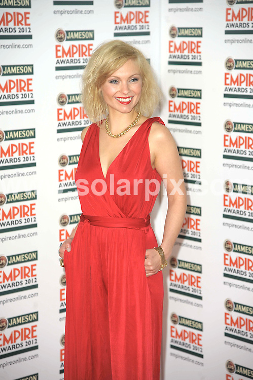 **ALL ROUND PICTURES FROM SOLARPIX.COM**                                             **WORLDWIDE SYNDICATION RIGHTS**                                                                                  Empire Film Awards at the Grovsnor House Hotel in London..This pic:   MyAnna Buring                                                           .JOB REF:   14607   MSR       DATE:   26.03.12                                                        **MUST CREDIT SOLARPIX.COM OR DOUBLE FEE WILL BE CHARGED**                                                                      **MUST AGREE FEE BEFORE ONLINE USAGE**                               **CALL US ON: +34 952 811 768 or LOW RATE FROM UK 0844 617 7637**