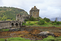 9/6/2015  View of the Eilean Donan Castle, known from the Hollywood movie Highlander, Loch Duich, Scotland on 2015/06/09. Foto EXPA/ JFK/Insidefoto
